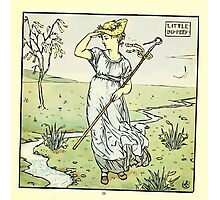 The Baby's Opera - A Book of Old Rhymes With New Dresses - by Walter Crane - 1900-41 Little Bo Peep Plate Photographic Print
