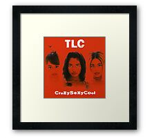 TLC-Crazy Sexy Cool Framed Print