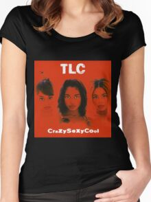 TLC-Crazy Sexy Cool Women's Fitted Scoop T-Shirt