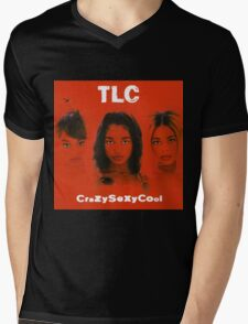 TLC-Crazy Sexy Cool Mens V-Neck T-Shirt