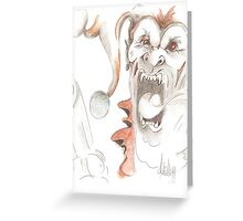 Clowns of a Different Nature Greeting Card