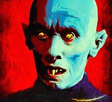 Horror Icons: Mr Barlow - Salem's Lot  by darkvisionsart