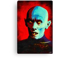 Horror Icons: Mr Barlow - Salem's Lot  Canvas Print