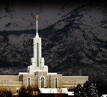 Mt. Timpanogos LDS Temple by Ryan Houston