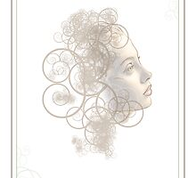 Flourish Face by Susan Sowers