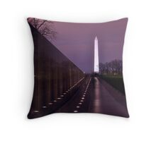 The Vietnam Memorial Throw Pillow