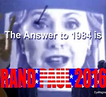 The Answer to 1984 is 2016 by EyeMagined