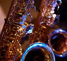 Blues Saxophone by Trev159