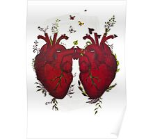 two hearts beating as one Poster