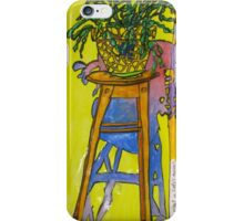 Zygocactus and Shadow iPhone Case/Skin