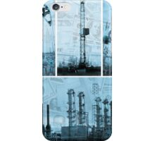 Oil industry and money. iPhone Case/Skin
