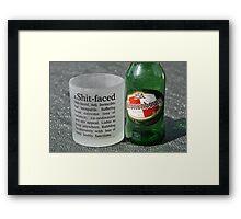 Summertime Drinking Framed Print