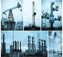 Oil industry. Oil extraction. by bashta