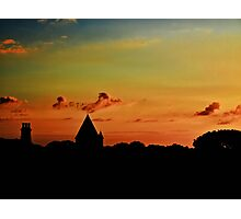 Last Light - Alderney Photographic Print