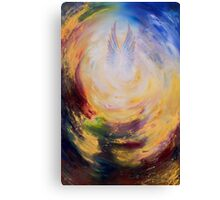 Angel wings gold Canvas Print