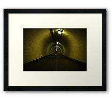 370th of a League Under The Thames Framed Print