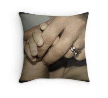 'Mother & son' Throw Pillow