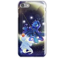 iPhone and Galaxy Case: Moonfishing iPhone Case/Skin