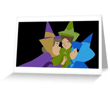 Fairy Godmothers Greeting Card