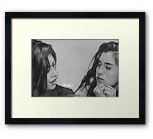 Camren Drawing Framed Print