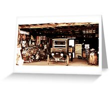 Barn of History Greeting Card