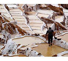 Salineras de Maras - Peru Photographic Print
