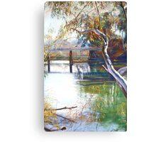 Goulburn Bridge II Canvas Print