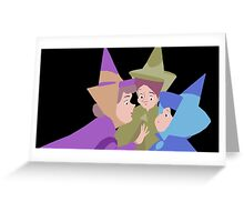 Fairy Godmothers Muted Greeting Card
