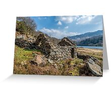 Cottage Ruin Greeting Card