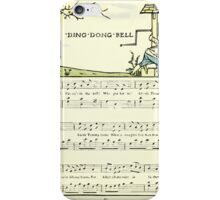 The Baby's Opera - A Book of Old Rhymes With New Dresses - by Walter Crane - 1900-24 Ding Dong Dell iPhone Case/Skin