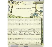 The Baby's Opera - A Book of Old Rhymes With New Dresses - by Walter Crane - 1900-24 Ding Dong Dell iPad Case/Skin