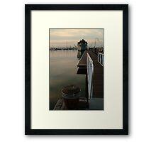 Gem Pier Williamstown Framed Print
