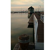 Gem Pier Williamstown Photographic Print