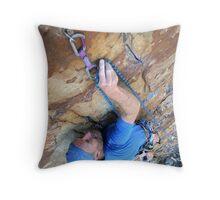 Make the clip Throw Pillow