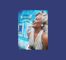 "Fantasy in White ""Happy Birthday"" ~ Greeting Cards and More Unisex T-Shirt"