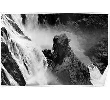 The Baron falls Kuranda FNQ Poster