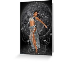 Diana .. moon goddess Greeting Card
