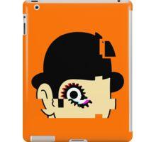 Orange Mécaglitch iPad Case/Skin