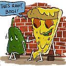 No avocado on my pizza! by OscarEA