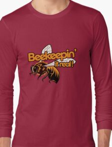 Beekeeper humor Long Sleeve T-Shirt