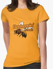 Beekeeper humor Womens Fitted T-Shirt