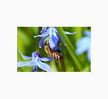 Wasp Pollinating Flower Unisex T-Shirt