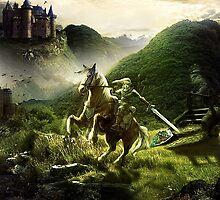 Legend of Zelda by BRTDRCKNS