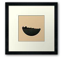 Skyless Composition 2 | Four Framed Print