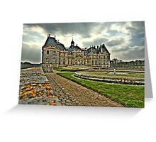 Château de Vaux le Vicomte  Greeting Card