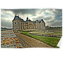 Château de Vaux le Vicomte  Poster