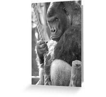 Gorilla Gorilla Gorilla Greeting Card