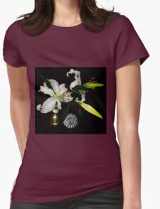 Fresh Lilies and Old Brass T-Shirt