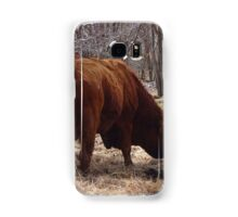 Eating his hay Samsung Galaxy Case/Skin