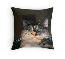 Demented Throw Pillow